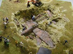 Flugzeugausgrabung, plane dig, plane find http://www.modellbauluft.de/Aktuelles/20-Jahre-Modellbau-Luft/H662_01.JPG