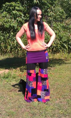 Patchwork pixie bloomers gypsy hippie dance pants by PixieSewL, $89.00
