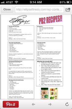 Pb2 recipe flyer