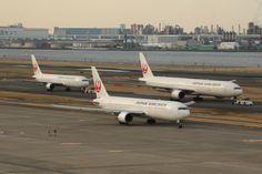日本航空 Boeing 767-300 JA8398 羽田空港 航空フォト   by yuu-kiさん 撮影2015年02月28日