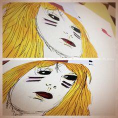 Blonde aquarelle !!