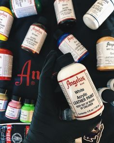 Behind The Scenes By angelusshoepolish The Right Stuff, White Acrylics, Hypebeast, Behind The Scenes, Create, Bottle, Illustration Fashion, Airbrush, Painting