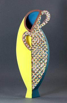Linda Gunn-Russel | Jug Form, Earthenware. 1986.