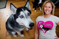 Mishka the Talking Husky T-shirts!