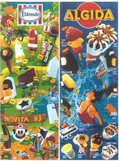 gelati degli anni 80 vari