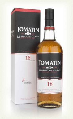 An 18 year old from the Tomatin distillery, finished in Spanish oak Oloroso sherry butts. Whisky Club, Whisky Bar, Scotch Whiskey, Bourbon Whiskey, Rum, Whiskey Brands, Blended Whisky, Master Of Malt, Liquor Bottles