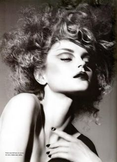 Fashiontography: Jessica Stam by Miguel Reveriego For Numero