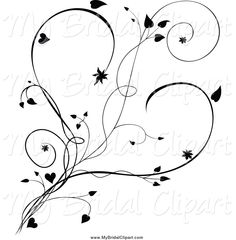 Image from http://mybridalclipart.com/1024/bridal-clipart-of-a-black-and-white-vine-and-hearts-by-dero-2036.jpg.