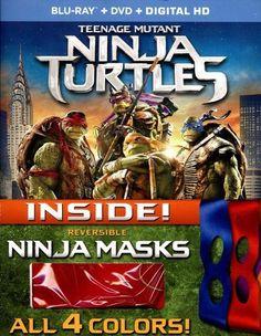 Teenage Mutant Ninja Turtles [With Mask] [Blu-ray/DVD] [Eng/Fre/Spa] [2014]