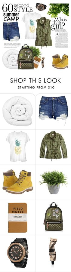 """""""camp"""" by theworldisatourfeet ❤ liked on Polyvore featuring Brinkhaus, Topshop, Lucky Brand, ECCO Sport, Ethan Allen, River Island, Olivia Pratt and Aesop"""