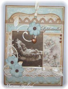 Mariannes papirverden.: Et babykort - Pion Design