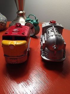 Lot Of 2 GeoTrax Locomotives