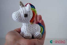 Unicorn Crochet Pattern {Magical crochet toys to make you squeal with glee!}