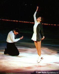 Katia Gordeeva & Sergei Grinkov, Figure Skating this performance was just 7 days before Sergei Grinkov died at the age of 28 in 1995.