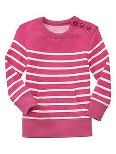 Striped pullover tunic