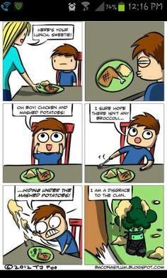 Ninja broccoli