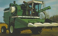 oliver combines | Re: Video of White 7800 in action - Page 2 - The Combine Forum