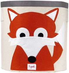 3 Sprouts Storage Bin Fox ** Be sure to check out this awesome product.Note:It is affiliate link to Amazon.