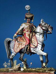 Officier des Velites de la Garde Royale de Murat. By Marco Greco