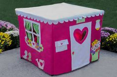 Hey, I found this really awesome Etsy listing at http://www.etsy.com/listing/64856621/double-delight-card-table-playhouse