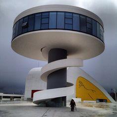 Centro Cultural Internacional Oscar Niemeyer, Asturias, Spain
