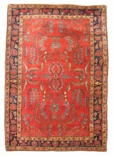 Sarouk rug  west persia, circa 1920  5 ft. 3 in. x 3 ft. 7 in.