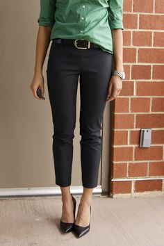 a fashion deliberation: Review: J. Crew Minnie Pant in Stretch Twill