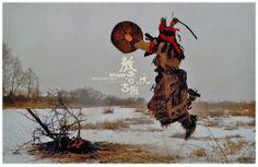 Nenet Kam(Shaman) drumming.