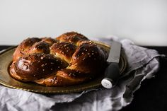 Stuffed challah with apple butter and walnuts   One Tough Cookie