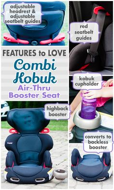 The Combi Kobuk Booster was featured on Daily Mom! http://dailymom.com/discover/car-seat-guide-combi-kobuk-air-thru-booster-seat/