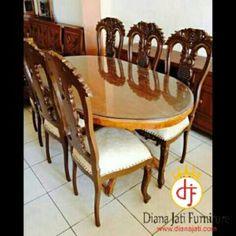 Kursi Makan Thaici Jati,model kursi makan | dianajati.com