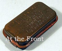 WWII Carlisle Bandage, in O.D. tin $14.99