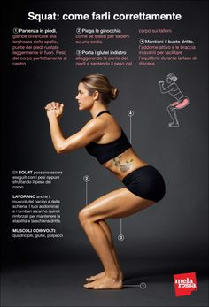 How to Do Squats (Video): Proper Squat Form Anyone Can Master - How to Do a Squat: An illustrated guide to the perfect squat. Fitness Workouts, Sport Fitness, Body Fitness, At Home Workouts, Fitness Motivation, Health Fitness, Exercise Workouts, Squat Exercise, Butt Workouts