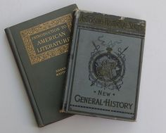1899 New General History & 1896 Literature by BigMamasBasement
