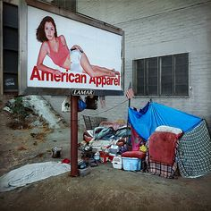 Advertisement for the Homeless