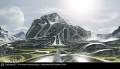 World Of Fantasy And Imagination Which Depict Future Cities (Dreamy Artworks) | Free and Useful Online Resources for Designers and Developers