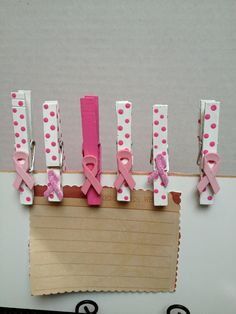 Cancer Survivor Clip I like this but I would use grosgrain ribbon instead of clay