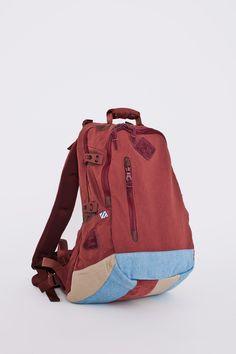 93c6160810ac Visvim Lamina Backpack 20L Picaro Burgundy Tres Bien Shop