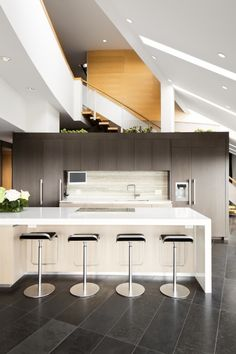 this architecture is SO cool! My future kitchen!