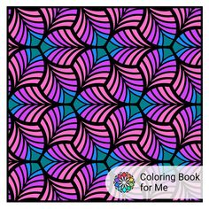 Did this on the app. Just  liked the pattern I did and kept doing it over and over again.