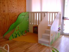 """Asilo nido """"Katia Franci"""" - Gonzagarredi You are in the right place about Montessori imprimer Here we offer you the most beautiful pictures about the Montessori floor bed you are looking for. Daycare Rooms, Home Daycare, Toddler Playroom, Toddler Rooms, Playroom Furniture, Kids Furniture, Reading Loft, Toddler Activity Board, Kids Basement"""