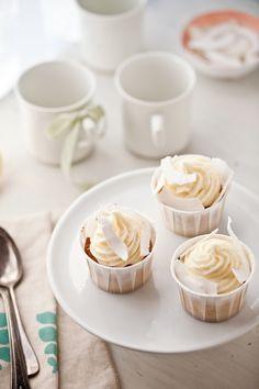 Gluten Free Lemon Coconut Cupcakes