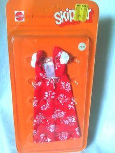 MOD 1972 BEST BUY SKIPPER FASHION BARBIE DOLL DRESS OUTFIT NEW NRFB