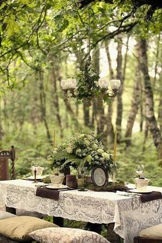 65 Outdoor Woodland Wedding Decor Ideas Modern Victorian woodland wedding with vintage numbers, moss and ferns and lace tablecloths – very romantic! Source by The post 65 Outdoor Woodland Wedding Decor Ideas appeared first on The Most Beautiful Shares. Forest Wedding, Woodland Wedding, Garden Wedding, Woodland Party, Woodland Theme, Indoor Wedding, Wedding Blog, Dream Wedding, Wedding Day