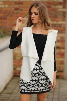Colete de neoprene branco da marca Coleteria ♡ - Coletes femininos e infantis - Coleteria | sempre♡