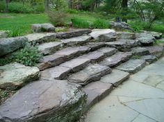boulder garden steps