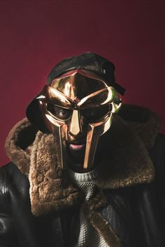 In anticipation of autumn, here is a picture of MF DOOM dressed for a chilly day