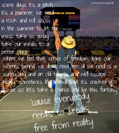 Kenny Chesney - Reality !! Great Song