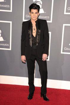 Adam Lambert at Grammy's