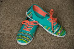 Do yourself, zapatos pintados a mano